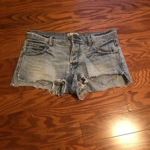 Free people cut-offs